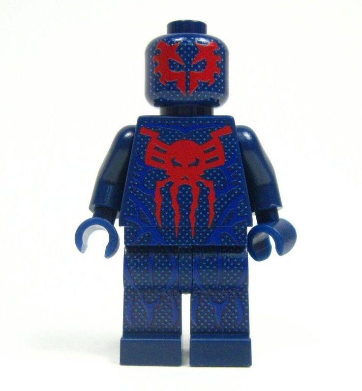 Lego Custom - - - - - - - 2099 - - - - - - Spider-Man Spider Man Spiderman noir
