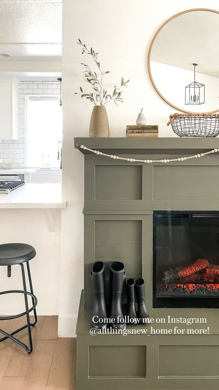 Diy Fireplace, Fireplace Remodel, Fireplace Design, Fireplaces, Home Reno, Next At Home, Humble Abode, My Dream Home, Great Rooms