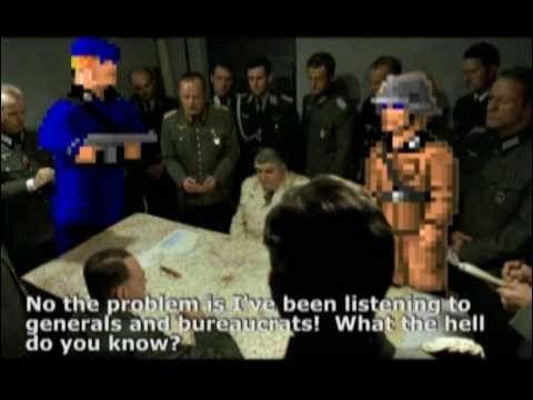 Hitler Reacts to Wolfenstein 3D