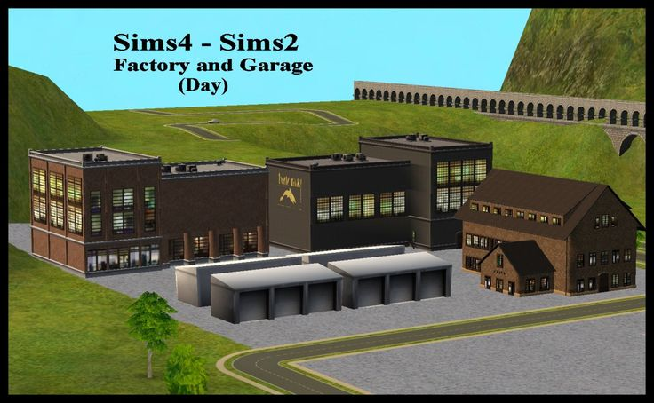 Sims4 - Sims2 HOOD DECO: Buildings  Uptown - 4  Uptown Fashion District - 3  Triangular Brownstone Apts - 2  Warehouse - 3  Garage - 1  *All are high poly (except for the garage, of course)  DOWNLOAD SFS
