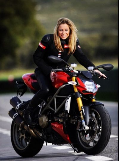 25 best ideas about motorcycle girls on pinterest biker - Pictures of chicks on bikes ...