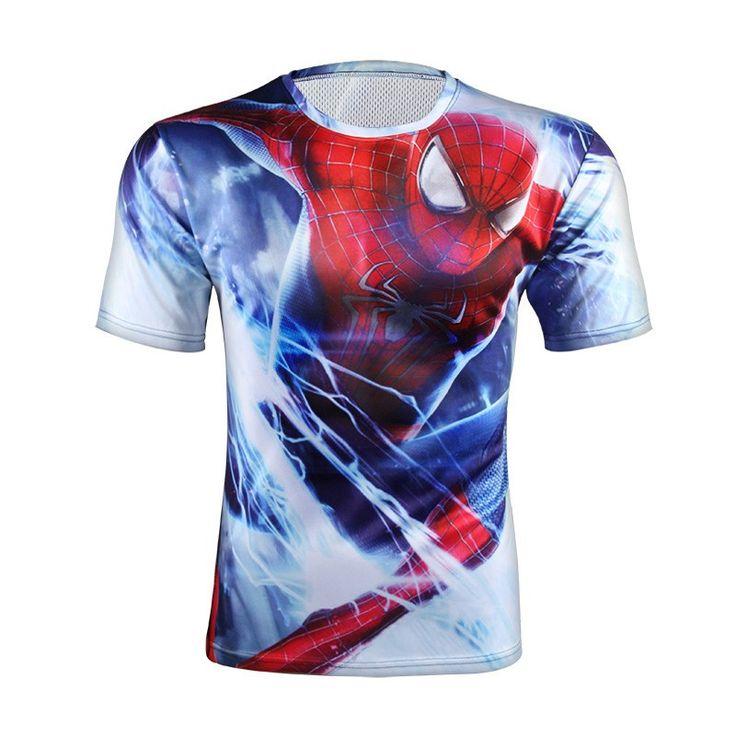 Spiderman Gym T-Shirt //Price: $19.95 & FREE Shipping //
