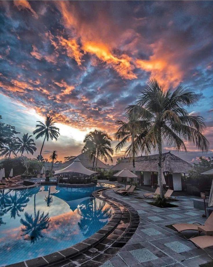 Sunset in Bali - Indonesia by @nala_rinaldo