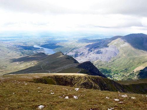 Hiking in Wales, Llanberis path