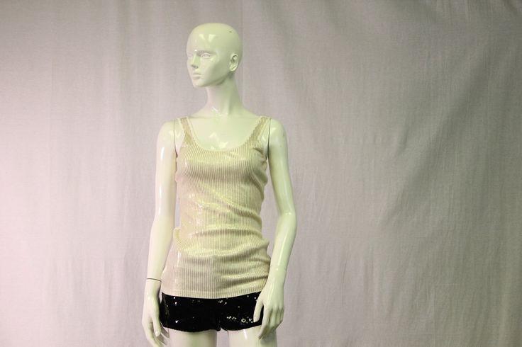 Black Sequin Shorts (SKU 000070)