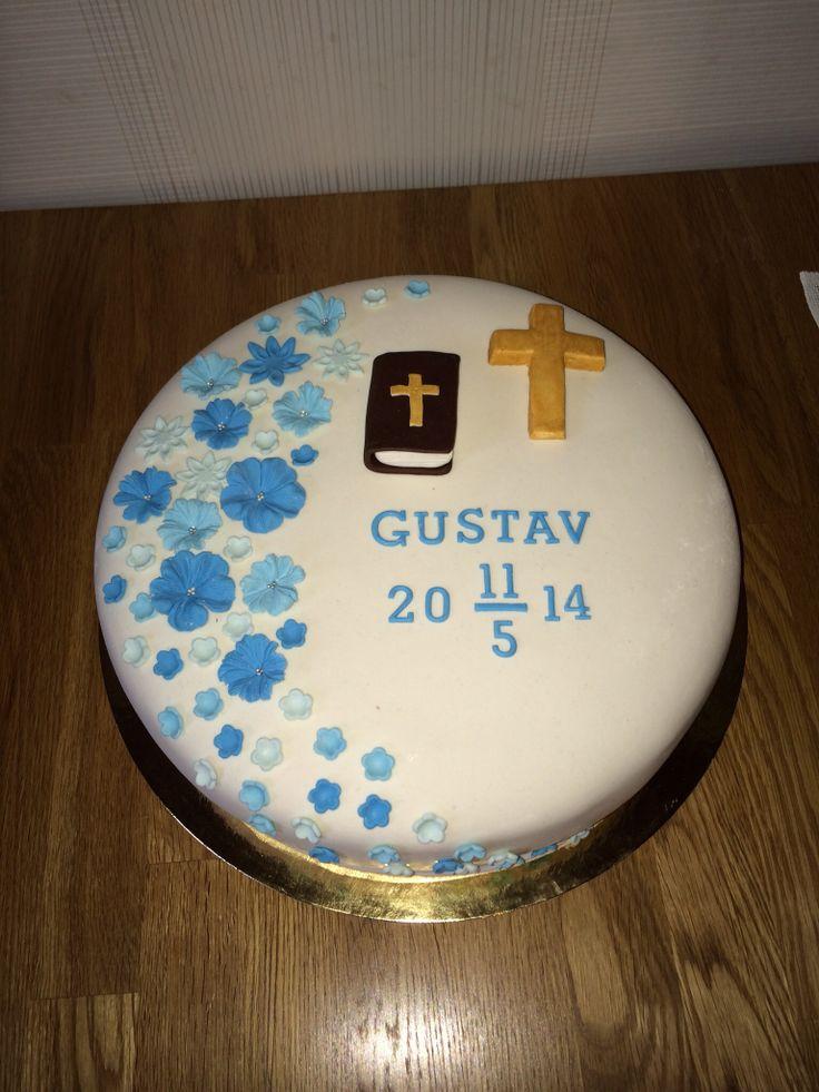 Confirmation cake konfirmationstårta