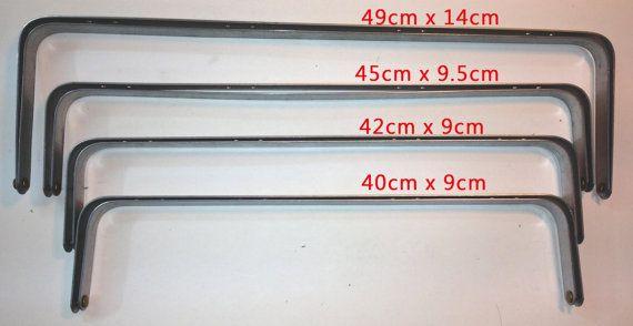 GROTE arts tas metalen frame bars 40-49cm werkmap bagage gratis verzending gratis tutorial