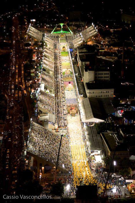 Sambodromo (Carnival), Rio de Janeiro, Brazil http://www.lonelyplanet.com/brazil/rio-de-janeiro
