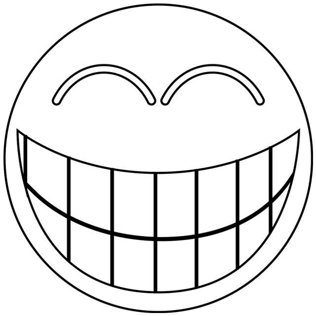 Le smiley-rire | gabarit appliqué | Pinterest | Smileys