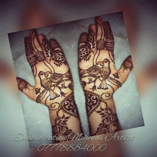 Love is everywhere.. Creative Mehndi by Swati... Follow on Facebook https://m.facebook.com/swahicreation/