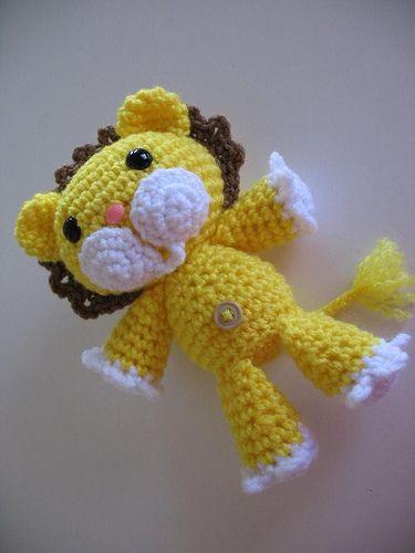 Lion amigurumi, crochet, free pattern amigurumi ...