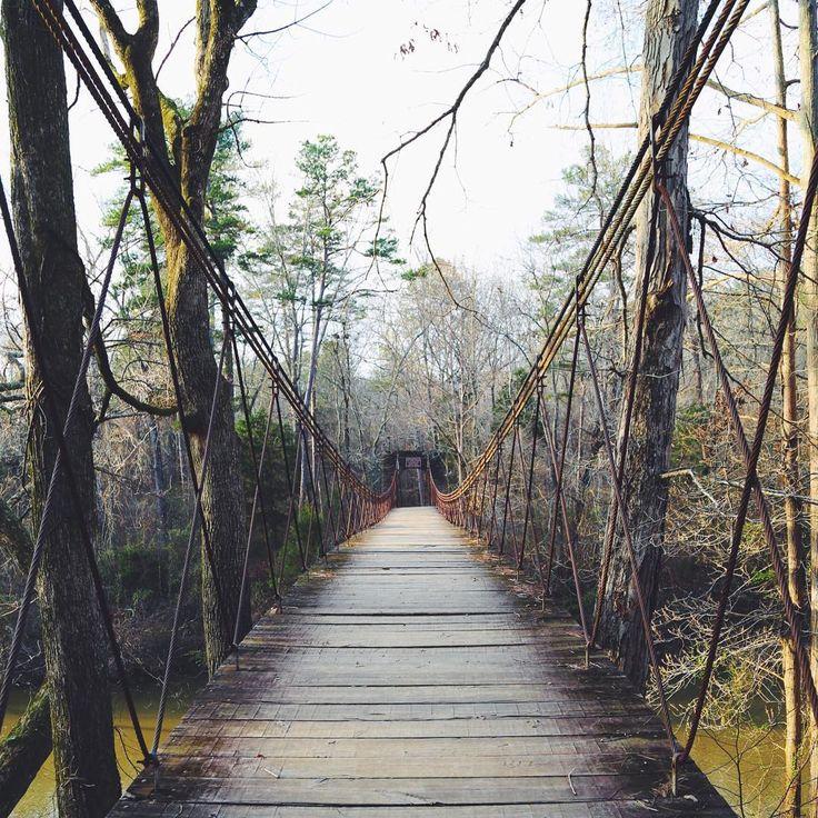 Swingin' Bridge at Tishomingo State Park
