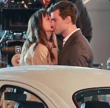 Image result for anastasia steele clothes in fifty shades of freed during the car chase