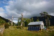 Comuna Lago Verde  05/2014, Lago Verde, Región de Aysén, Chile   Potencia: 42.6 kWp   Tipo de instalación: Freiland, Sistema aislado