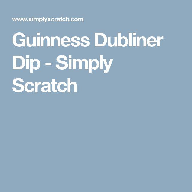 Guinness Dubliner Dip - Simply Scratch