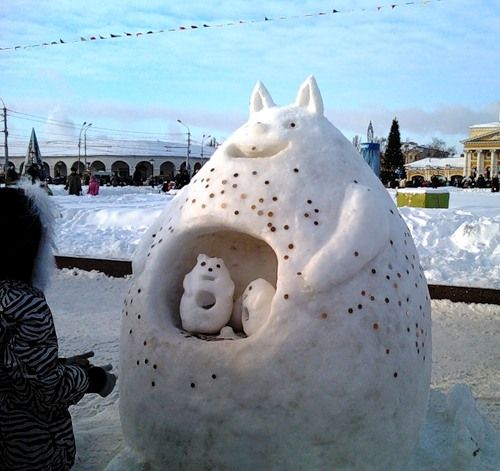 Зимние игры с детьми на улице. Интересные идеи и затеи: что еще надо успеть сделать до конца зимы. - Рыжие интересности