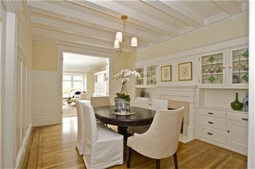 Dining room built ins with fireplace kitchen ideas for Dining room built ins ideas