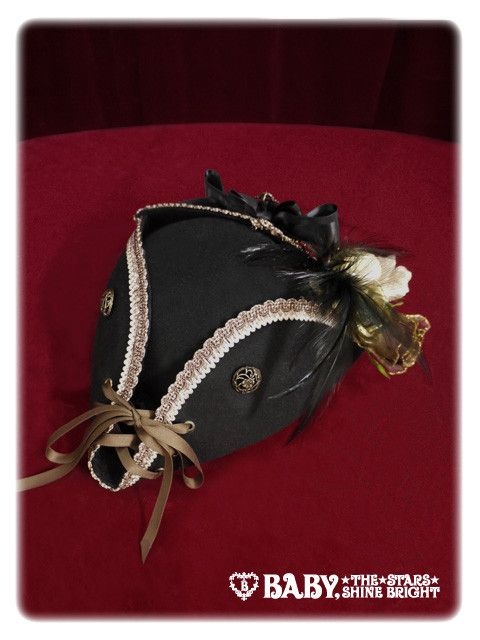 Alice and the Pirates World's Treasure hunting pirate hat