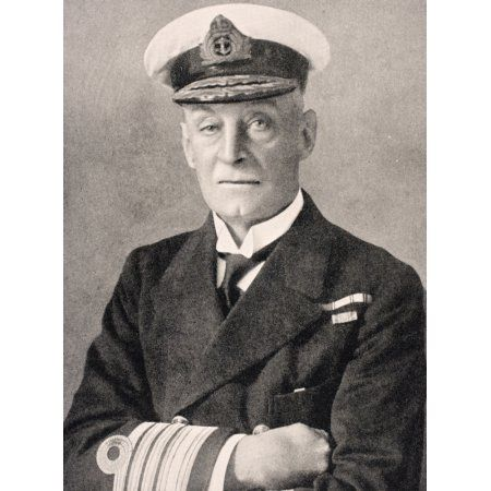 Admiral Sir Henry Bradwardine Jackson 1855 To 1929 First Sea Lord Of The Admiralty From The War Illustrated Album Deluxe Published London 1916 Canvas Art - Ken Welsh Design Pics (12 x 17)