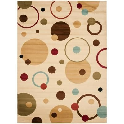Porcello Ivory Multi 8 Ft X 11 2 In Area Rug