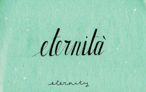Learning Italian Language ~  Eternità (eternity ) IFHN