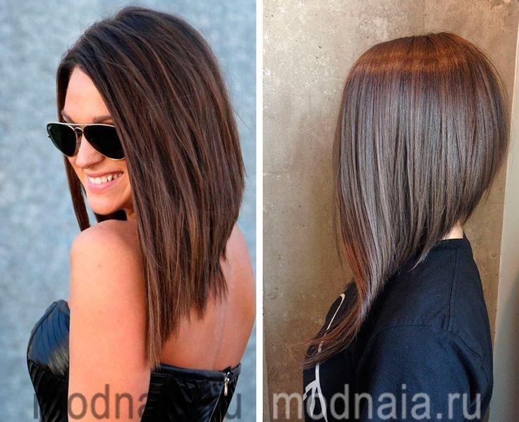 Причёски на удлинённый волос