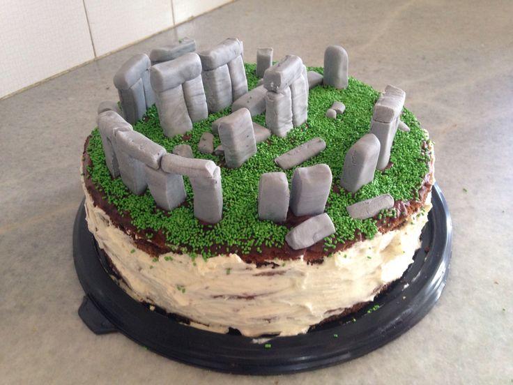 Stonehenge cake!!!