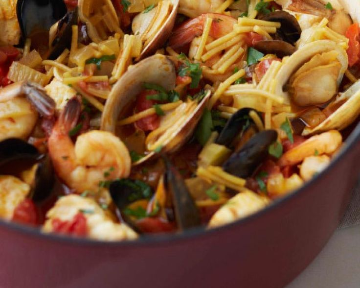 Spanish Noodle Paella Recipe — Dishmaps