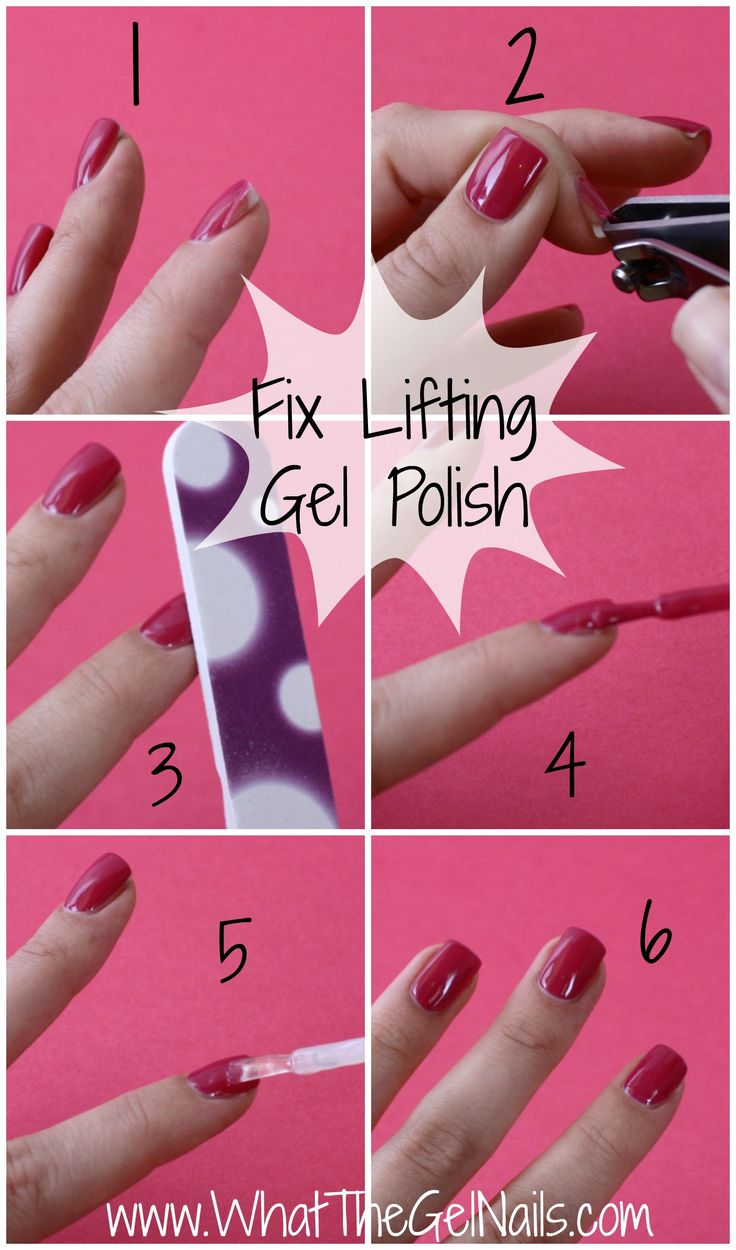 Fix lifting gel polish in just 5 steps. Plus more tips and ...