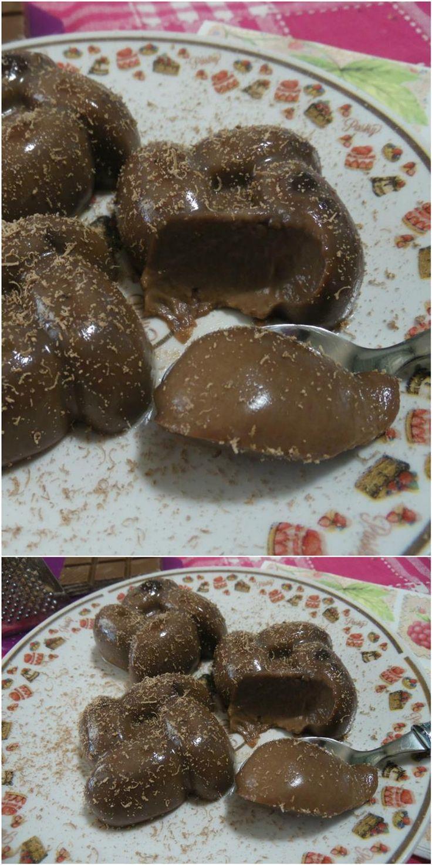 Panna cotta alla nutella, una golosità unica ! #pannacotta #nutella #ricettegustose