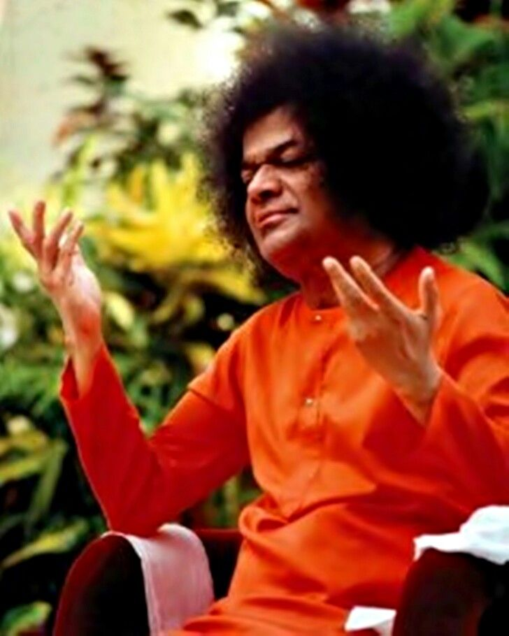 """""""There is a voice that doesn't use words. ...Listen."""" Sathya Sai Baba"""