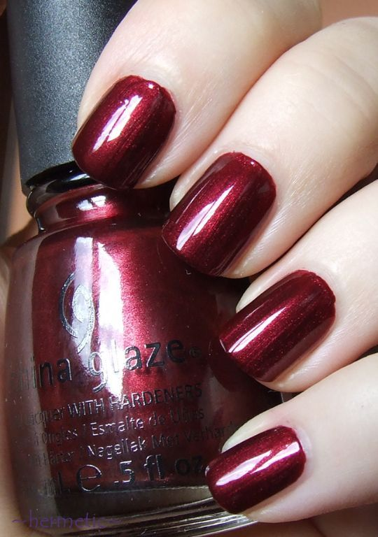 China Glaze Heart of Africa. My favorite color!
