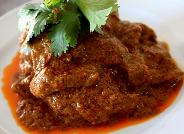 This is Beef Rendang!