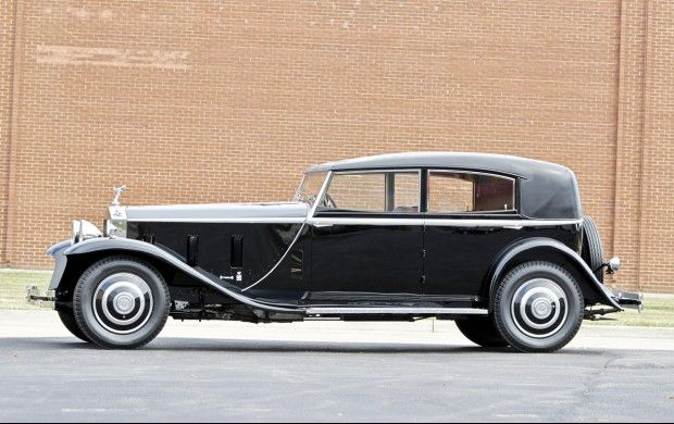 1933 Rolls-Royce Phantom II Sport Sedan Maintenance of old vehicles: the material for new cogs/casters/gears/pads could be cast polyamide which I (Cast polyamide) can produce
