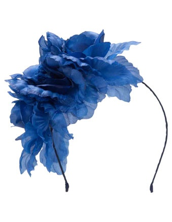 GREGORY LADNER triple peony fascinator #cupday #myerspringfashion