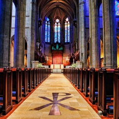 Grace Cathedral, San Francisco - a flagship of the Episcopal Church USA