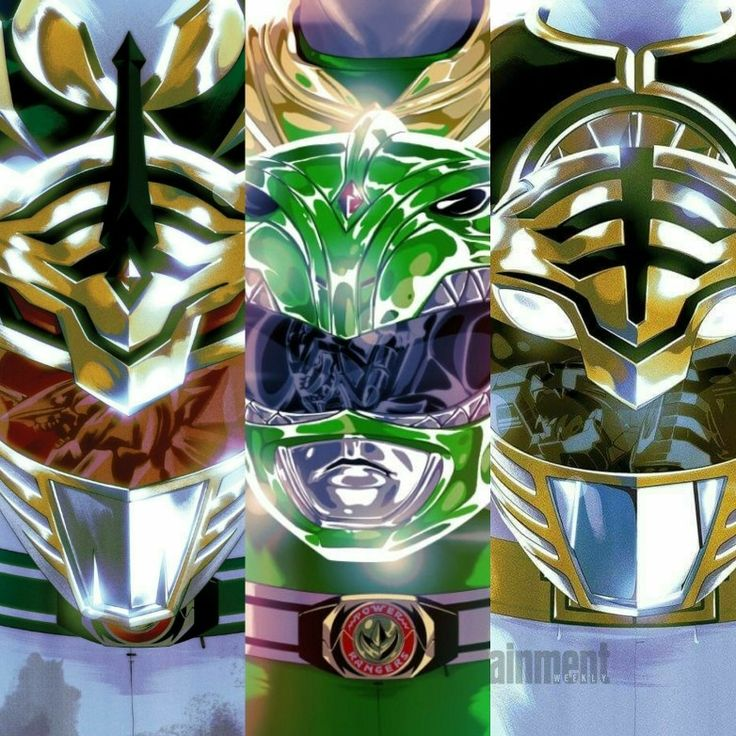 Tommy Oliver to Power Rangers lord drakkon and Dragon green and white tiger (Jason David Frank)