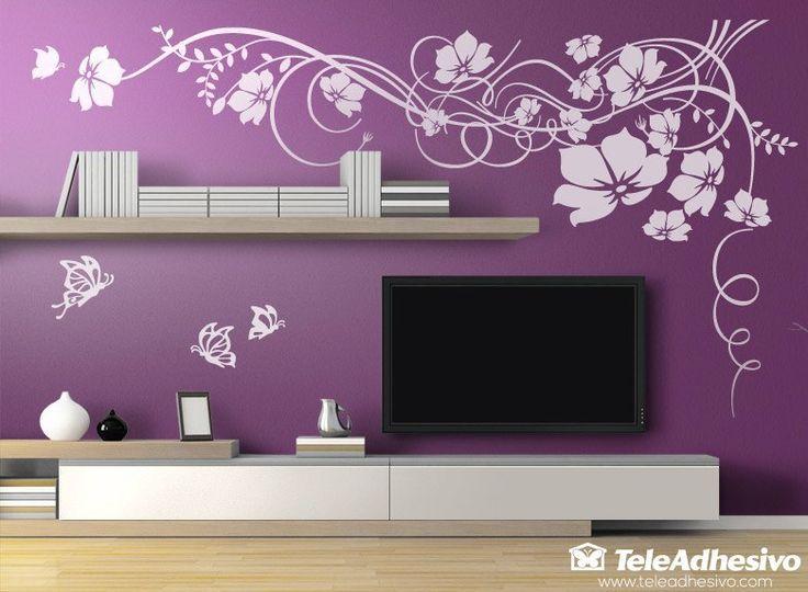 salon violeta vinilo - Buscar con Google