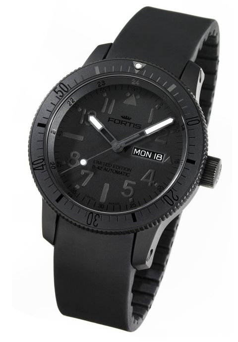 Black watch for casual evening