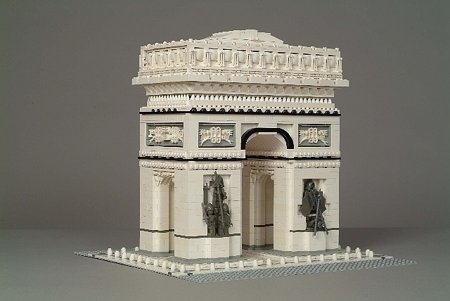Arc de Triomphe (Paris) in LEGO