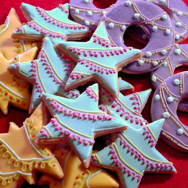 Christmas Garland Cookies 1 by bittle, via Flickr