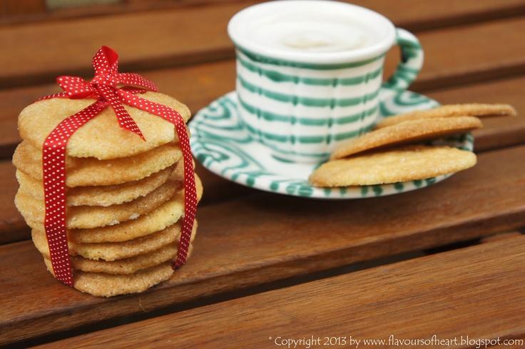 crispy #lemon #cookies with sugar