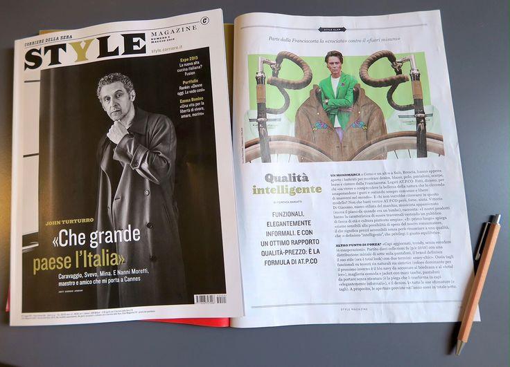 #ATPCO sull'ultimo numero di Style Magazine