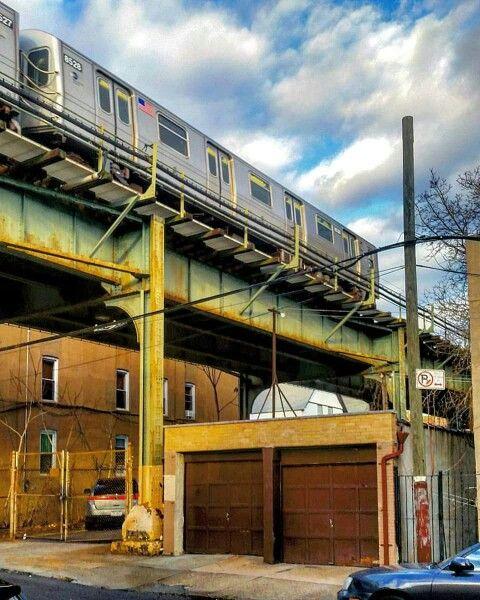 """The """"M"""" Train, Ridgewood, NY"""