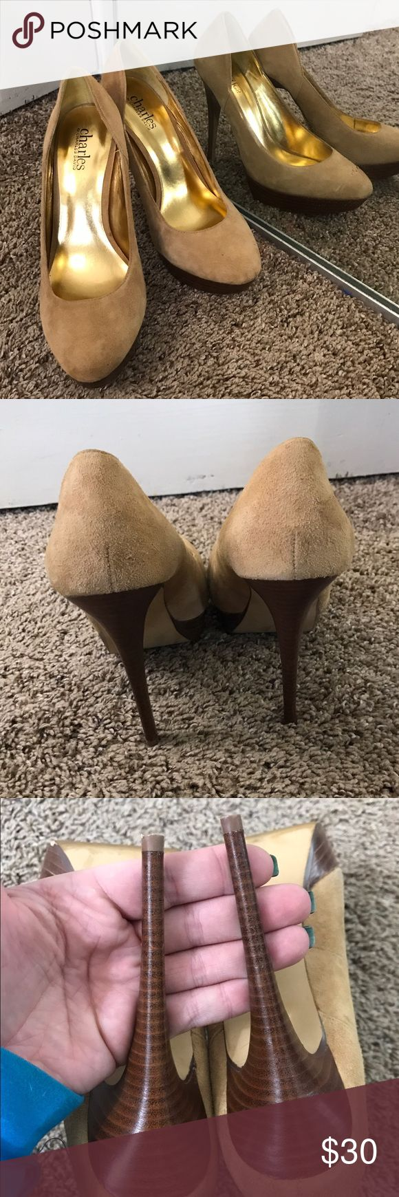 Charles by Charles David nude pumps In great shape Charles David Shoes