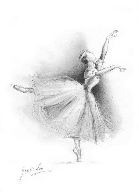 графические картинки балерин просто обновили айдентику