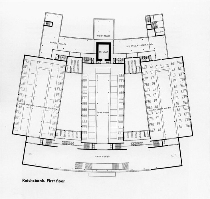 1933 berlin reichsbank project ludwig mies van der for Seagram building ppt