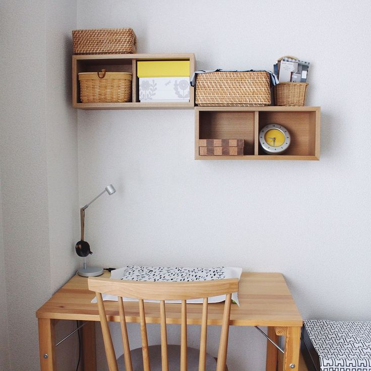バリエーションが豊富で組み合わせも楽しい、無印良品の「壁に付けられる家具」シリーズ。今回は「箱」の実用例をご紹介します。機能的に使えるのはもちろんだけれど、一つ設置するだけで「お気に入りのスペース」をきっと手に入れることができますよ。センスの良い配置や使い方に注目です。