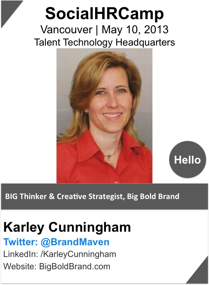 @Karley Cunningham flips the traditional brand development approach to a more authentic, inside-out approach, she helps entrepreneurs to develop clarity in their communications and create a thriving culture within their organization. Having built three successful businesses of her own, she truly understands how a great brand, unique marketing and solid business practice come together to produce raving fans and solid business results.