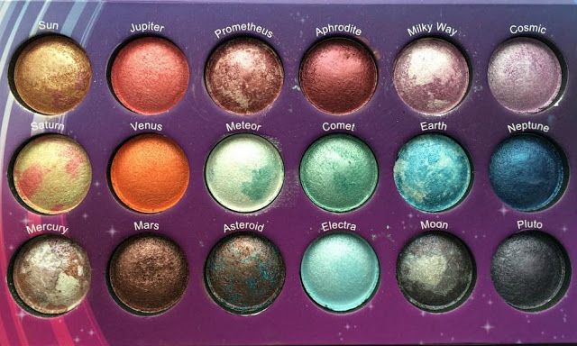 BH Cosmetics Galaxy Chic eyeshadow palette - Own it, Adore it, such fun!